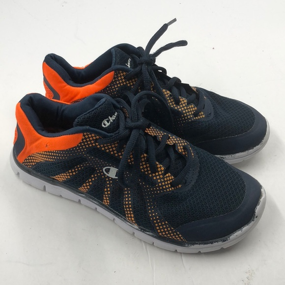 0f2897b0bd2 Champion Other - Champion Boy s Navy Orange Tennis Shoes 3